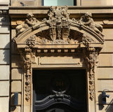 Dettagli di Art Nouveau Fotografia Stock