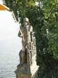 Dettagli di Charles Bridge - di Bruncvik fotografia stock libera da diritti