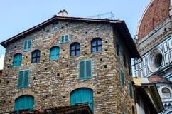 Dettagli di Florence Italy Immagine Stock