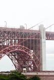 Dettagli di golden gate bridge a San Francisco U.S.A. Immagine Stock Libera da Diritti