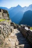 Dettagli di Machu Picchu Fotografia Stock