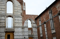 dettagli di Siena fotografia stock libera da diritti