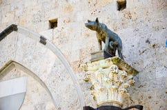 dettagli di Siena fotografie stock libere da diritti