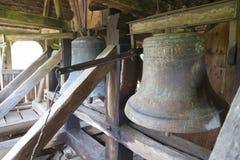 Dettagli di vecchie campane di chiesa Immagine Stock
