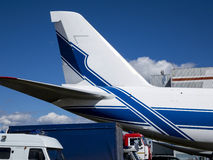 Dettagli e parti degli aerei Fotografia Stock Libera da Diritti