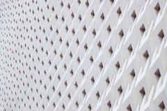 Dettagli geometrici di architettura del modello dei dettagli di architettura del pannello del cemento fotografia stock