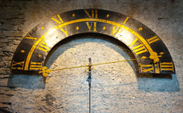 Orologio della torre Fotografie Stock
