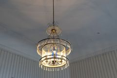 Dettagli interni - l'illuminazione nella stanza Immagini Stock