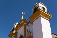 Dettagli spagnoli coloniali della chiesa Immagine Stock Libera da Diritti