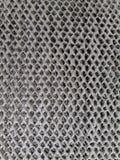 Dettagli sporchi di filtro dell'aria fotografie stock