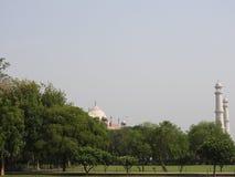 Dettagli Taj Mahal, sito storico famoso dell'Unesco, monumento di amore, la più grande tomba di marmo bianca del primo piano in I fotografia stock libera da diritti