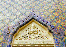 Dettagli a Wat Ratchabopit Fotografie Stock