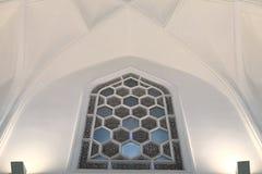 Dettaglia la finestra del palazzo arabo Immagini Stock
