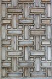 Dettaglia la porta della moschea Immagini Stock