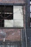 Dettaglio abbandonato del magazzino Immagini Stock