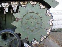 Dettaglio alto di fine del carro armato dell'incrociatore del Ram II Fotografia Stock