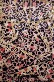 Dettaglio alto vicino di un mosaico colorato della piastrella di ceramica fotografie stock libere da diritti