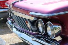 Dettaglio americano di lusso classico dell'automobile Immagine Stock Libera da Diritti