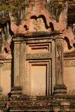 Dettaglio antico della pagoda Bagan Regione di Mandalay myanmar fotografia stock libera da diritti