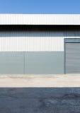 Dettaglio architettonico del tetto del metallo Fotografie Stock Libere da Diritti