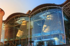 Dettaglio architettonico dell'alta corte del Bordeaux immagini stock