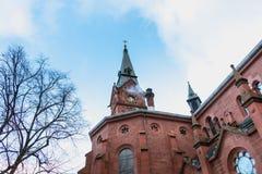 Dettaglio architettonico dell'evangelista Kirche Paul Church Fotografia Stock Libera da Diritti
