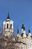 Dettaglio architettonico della chiesa della resurrezione, Russia fotografia stock libera da diritti