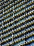 Dettaglio architettonico di costruzione in Mumbai Immagini Stock Libere da Diritti