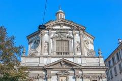 Dettaglio architettonico di Roman Catholic Baroque San Giuseppe fotografie stock