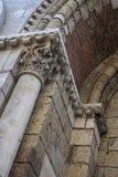 Dettaglio architettonico di Sernin Basilica del san Fotografia Stock