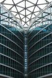 Dettaglio architettonico di una costruzione moderna Immagini Stock