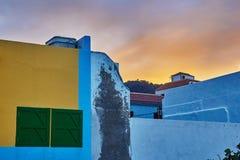 Dettaglio architettonico a Garachico, Tenerife, Spagna Immagini Stock