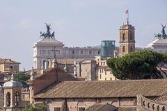 Dettaglio architettonico romano Fotografie Stock Libere da Diritti