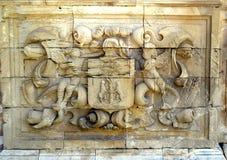 Dettaglio architettonico sul Charterhouse di Jerez immagine stock