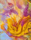 Dettaglio astratto della pittura  Immagini Stock