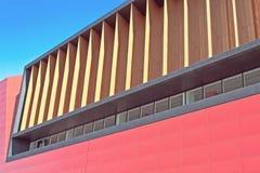 Dettaglio astratto di costruzione moderna Immagine Stock Libera da Diritti