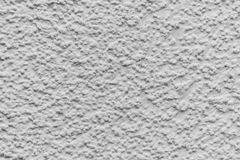 Dettaglio bianco di struttura del housewall Fotografie Stock Libere da Diritti
