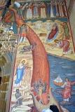 Dettaglio che dipinge Putna, Romania Immagine Stock Libera da Diritti