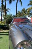 Dettaglio classico del cuscino ammortizzatore della parte anteriore di Ferrari Fotografia Stock Libera da Diritti
