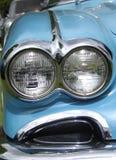 Dettaglio classico e d'annata dell'automobile Immagini Stock
