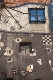 Dettaglio dalla Camera di Hundertwasser a Vienna Immagine Stock Libera da Diritti