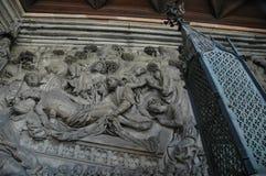 Dettaglio dalla chiesa di Norimberga Immagine Stock