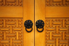 Dettaglio dalla vecchia porta bosniaca Fotografia Stock