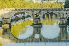 Dettaglio de Ponte Sisto Imagen de archivo