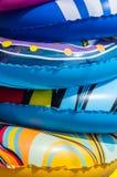 Dettaglio degli anelli di nuotata Immagini Stock Libere da Diritti