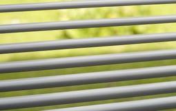 Dettaglio dei ciechi di finestra Immagini Stock