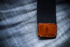 Dettaglio dei jeans Fotografie Stock Libere da Diritti