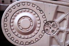 Dettaglio dei montaggi industriali Fotografia Stock
