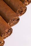 Dettaglio dei sigari cubani di lusso Immagine Stock Libera da Diritti