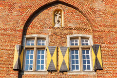 Dettaglio del Agathator in Bedburg alt-Kaster, Germania Fotografia Stock